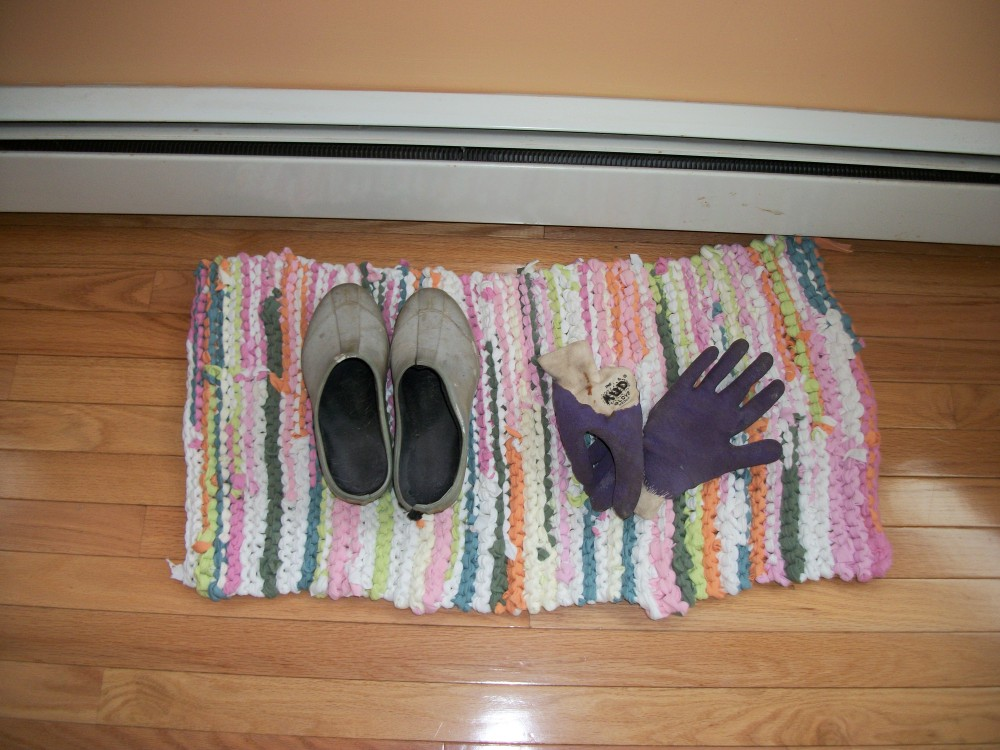 Turkey Tracks:  The T-Shirt Rug and Rags (3/3)