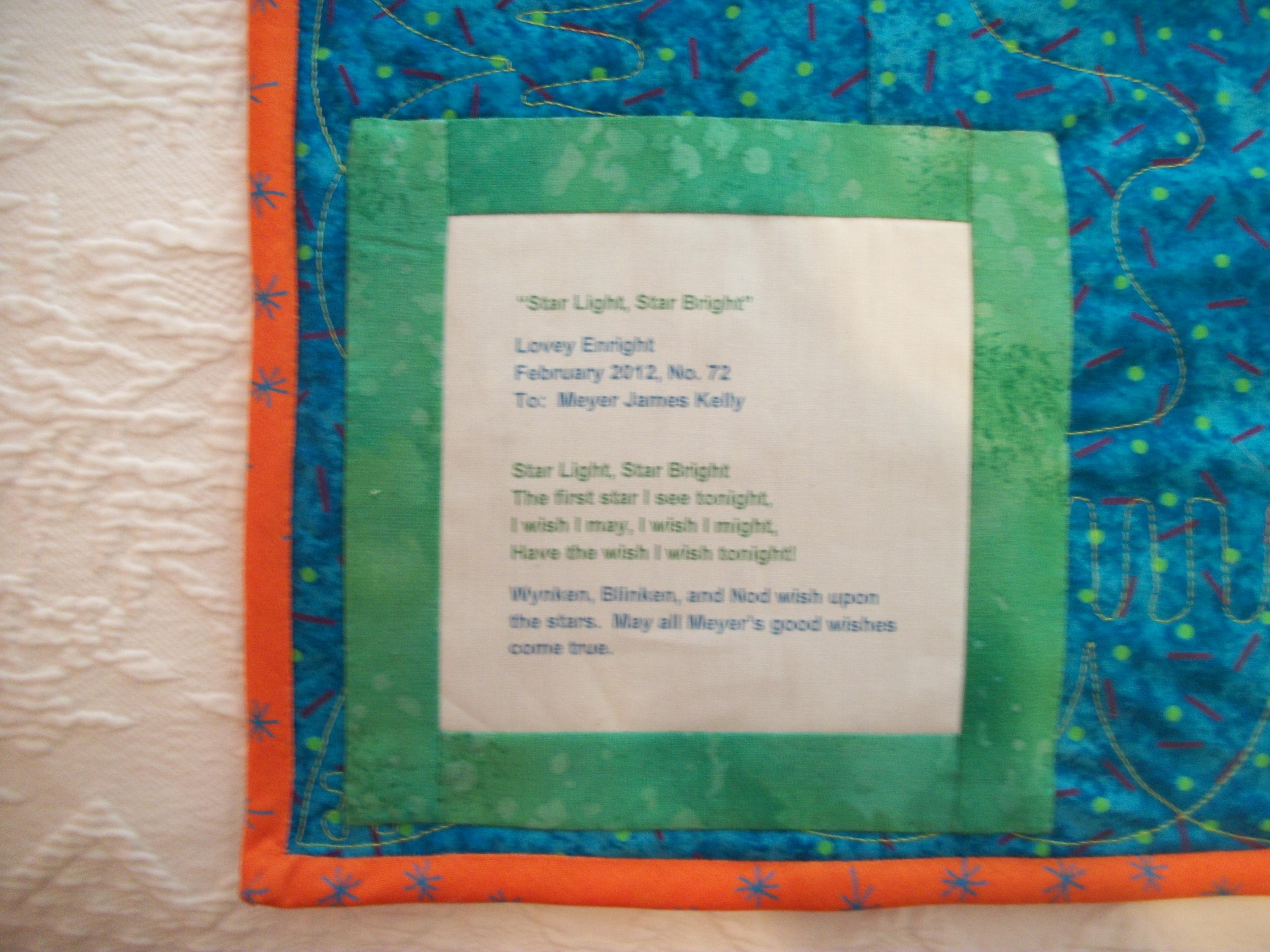 "Turkey Tracks: Quilts, Quilts, Quilts: ""Star Light, Star ..."