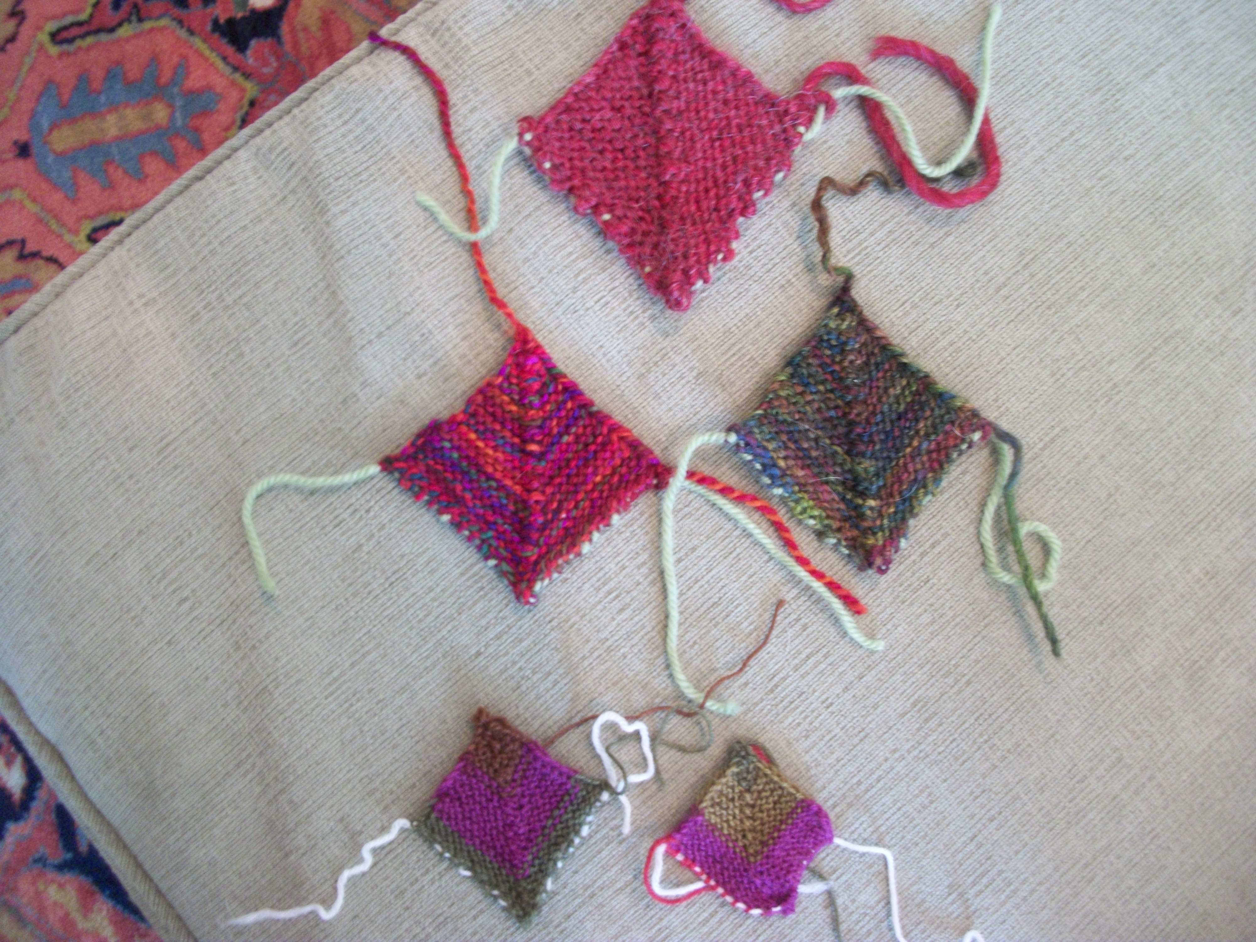 Leftover yarn crafts pictures