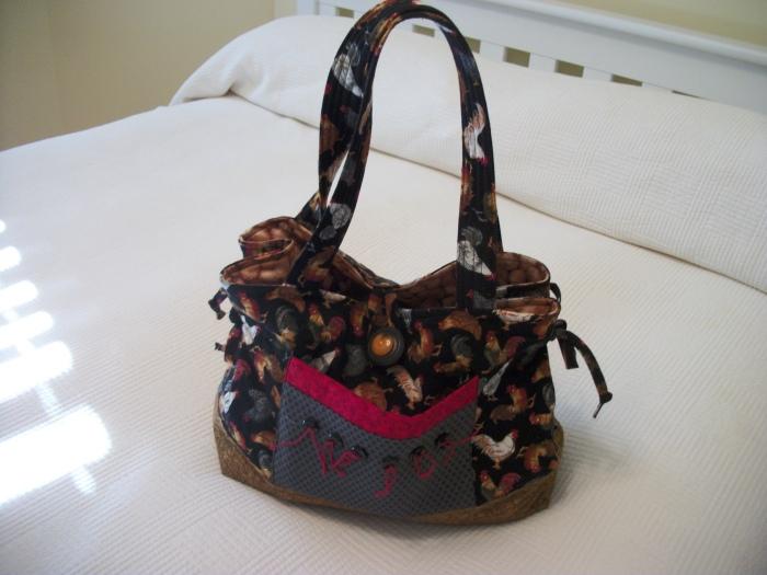 chicken purse 2