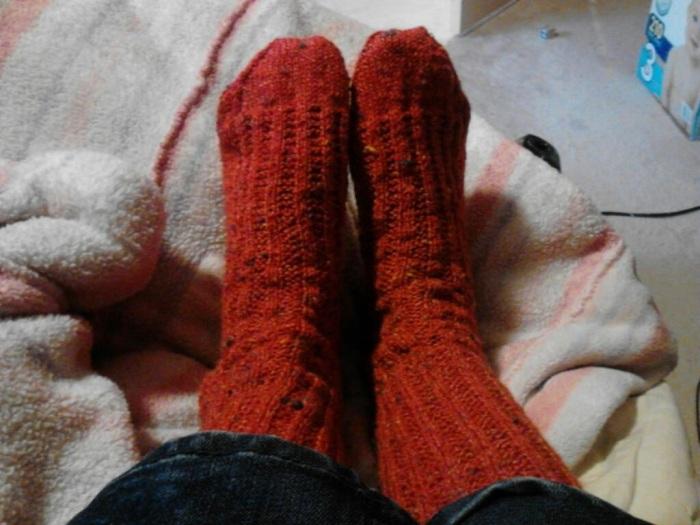 Nancy's socks