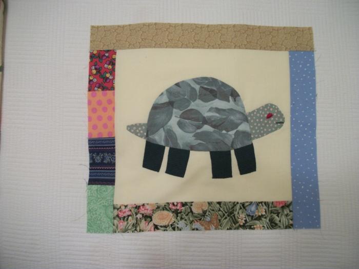 Green Turtle block