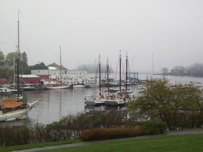 Camden Harbor, Pea Soup Fog