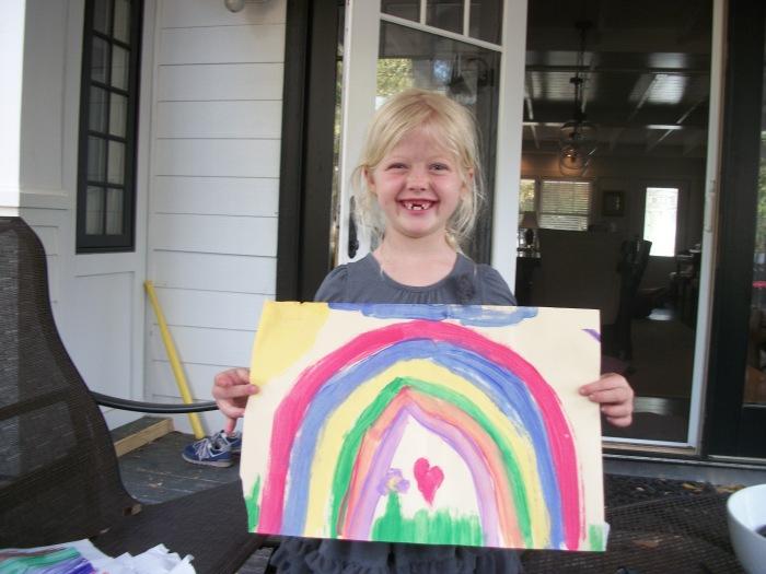 Talula's rainbow