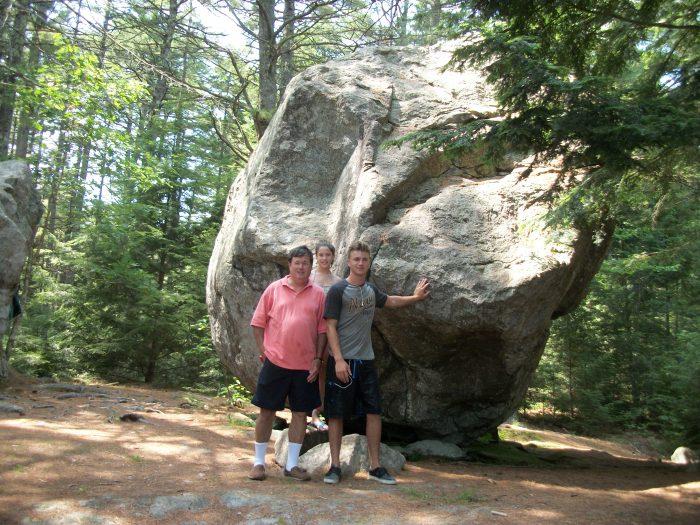 Greg's crew, Balance Rock