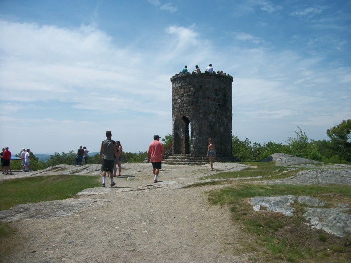 Greg's crew, Mt. Battie tower