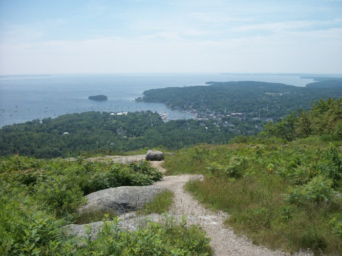 Greg's crew, Mt. Battie View