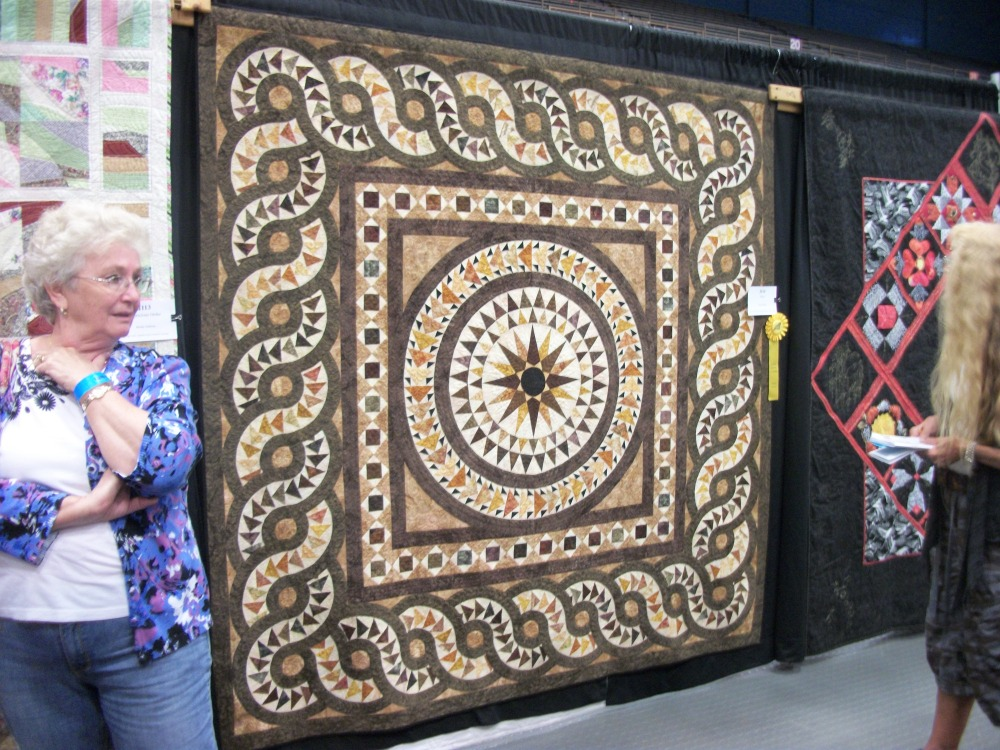Turkey Tracks:  Pine Tree Quilting Guild Annual Show (1/6)