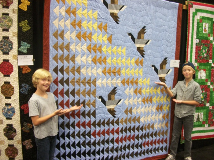 Boys favorite quilt, 2013