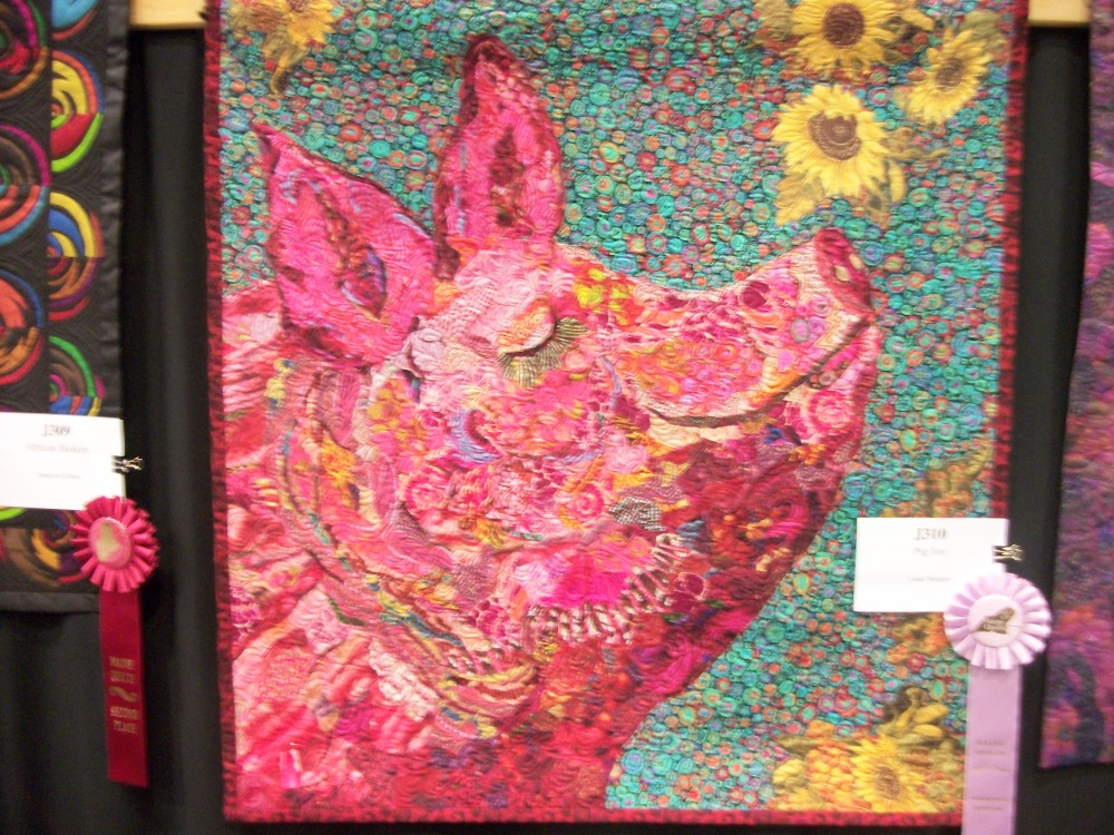Turkey Tracks:  Pine Tree Quilting Guild Annual Show (6/6)