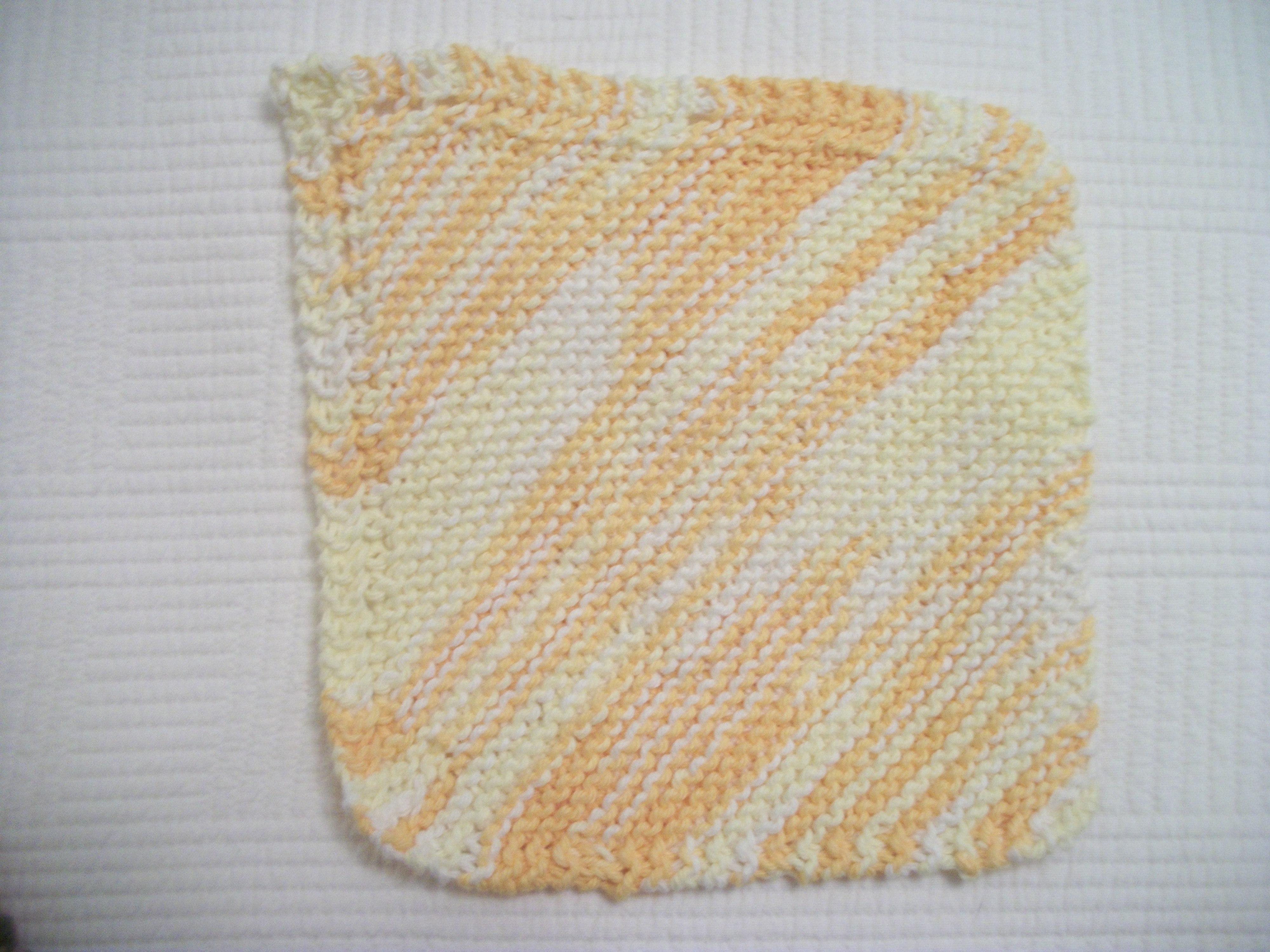 knitted dishcloth pattern   Louisa Enright\'s Blog