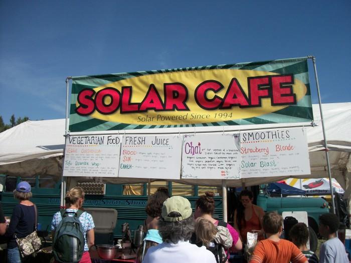MOFGA Solar Cafe