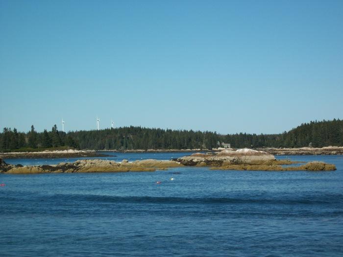 Vinalhaven, Fox Island windmills