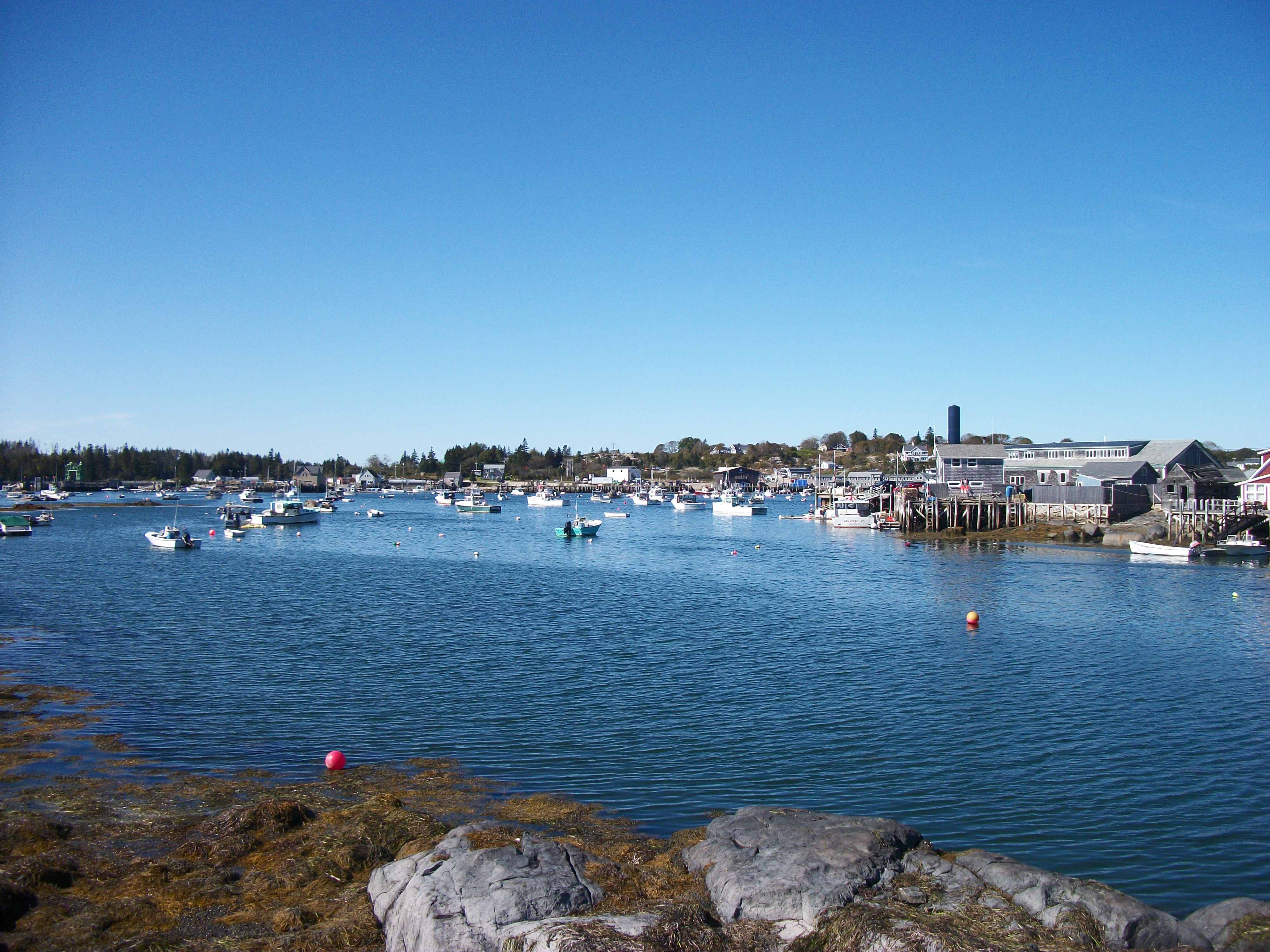 Vinalhaven from Indian creek