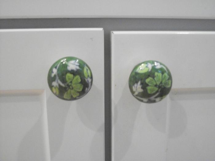 Green Kitchen Door Knobs