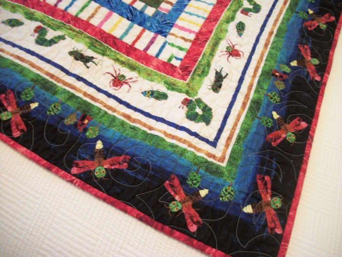 Hungry Caterpillar mitered border 2