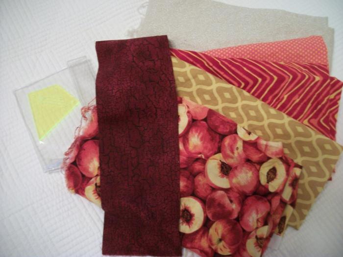 Kite Block fabrics