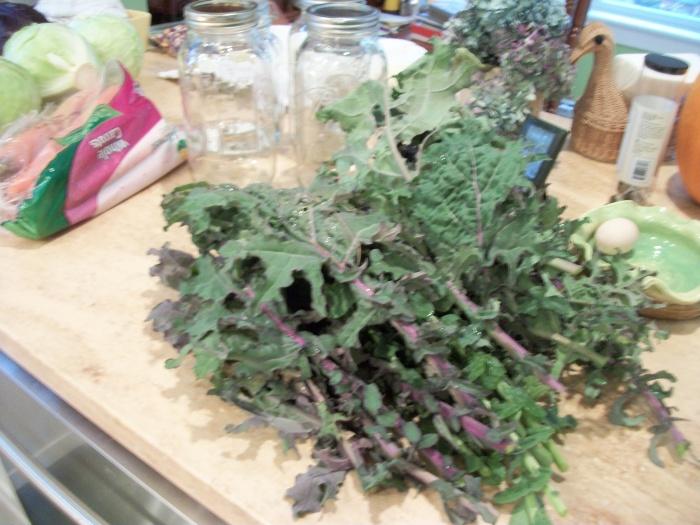 Kale from garde
