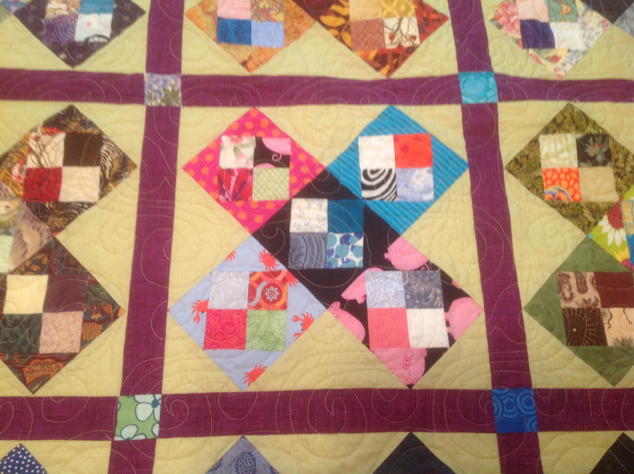 years in mmm one s week from img echo patchwork done last help prints quilting musings flower ago vicki a daisy and the quilt of i american that menopausal quilts saw hands motif to melon