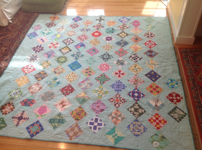 Turkey Tracks: The Farmer's Wife 1930's Sampler Quilt is FINISHED ... : the farmers wife quilt - Adamdwight.com