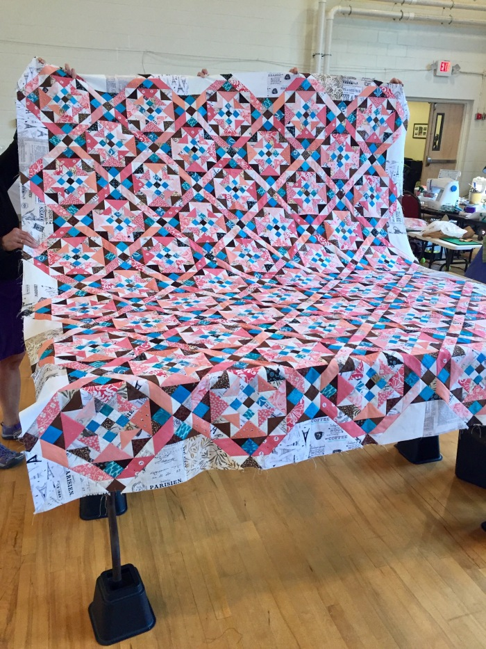Turkey Tracks: Coastal Quilters' 2018 Mothers' Day Retreat: Part 5